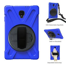 Samsung Tab 9.6 Case NZ - Military Extreme Heavy Duty Shockproof CASE With Stand For Samsung Galaxy Tab A 10.5 SM-T595 SM-T590 T590 T595 2019