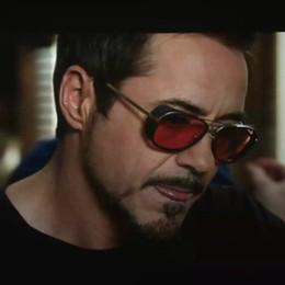 7e7c6e51df6ea Iron Man 3 Matsuda TONY stark Sunglasses Luxury Brand Men Rossi Retro  Vintage Square Shades Sun glasses Oculos de sol Masculino