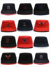 Sports Bucket Hats NZ - 2018 Baseball Team Logo Embroidery Travel Fisherman  Leisure Bucket Hats for c0fa2887703