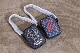 2018 novo designer de marca de luxo dANUBE Crossbody sacos de embreagem moda homens mulheres Bumbag impermeável rua sacos de ombro ao ar livre sacos