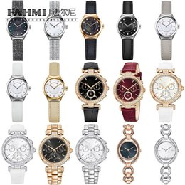 Brand Luxury Style Watch Australia - FAHMI titanium steel men and women exquisite style noble and timeless charming quartz watch high quality brand jewelry original watch