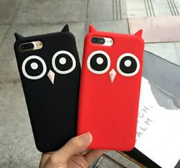 $enCountryForm.capitalKeyWord NZ - For iPhone X Owl Silicone Case 8 Plus 6 6S 7 Plus Fashion Funny Soft Cartoon Mobile Phone Skin Cover Drop Shipping
