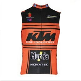 $enCountryForm.capitalKeyWord UK - 2019 KTM Cycling Sleeveless jersey Vest summer Men Tour de France MTB Bike maillot Ropa Ciclismo quick dry Bicycle Clothing F60324