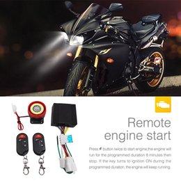 yamaha remote control 2019 - OLOEY Moto Scooter Security Alarm System 12v Motorbike Bike Immobiliser Remote Control Engine Start For Yamaha discount