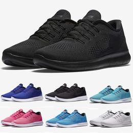save off a0cb5 ae67e 2018 New Free Run 5.0 RN tricots Hommes Chaussures de Course, Pas Cher  Original 5.0 Tissage Légères Chaussures De Sport