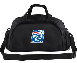 Backpack Flag Print Canada - Iceland duffel bag Flag printing casual tote Football new team backpack Soccer exercise luggage Sport shoulder duffle Outdoor sling pack