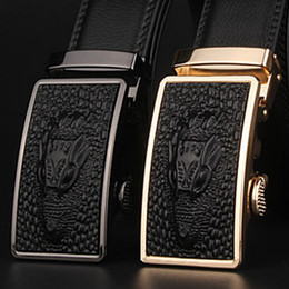 $enCountryForm.capitalKeyWord Canada - Hot sale Best quality designer brand name fashion Men's Business Waist Belts Automatic buckle Genuine Leather belts For Men free shipping
