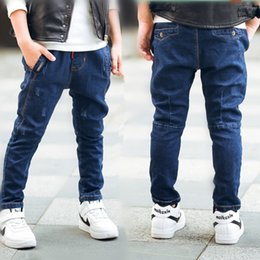 male jean styles Canada - 2018 Male child jeans of autumn and spring child trousers children 's clothing , fashionable style and high quality kids jeans.