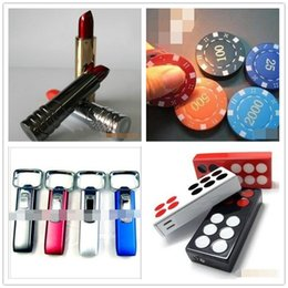 $enCountryForm.capitalKeyWord Australia - Newest Creative Butane Metal Flame Lighter No Gas Lipstick Chip Opener Shaped 4 Styles Choose For Kitchen Tools Christmas Gift