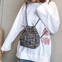 $enCountryForm.capitalKeyWord Canada - LEFTSIDE Female Wool Backpack Purse Women Woolen Backpacks Chains Back Pack For Teenage Girls Mini Vintage Kids Small Bagpacks