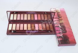 $enCountryForm.capitalKeyWord Canada - New Makeup Cherry Eye Shadow 12 Colors Palette Shimmer and Bronzers Palette Nude Metalic Long-Lasting Eyeshadow