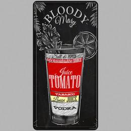 Tin Car Posters Australia - Vodka Juice Vintage Metal Tin Signs Car Number License Plate Plaque Poster Bar Club Wall Garage Home Decoration