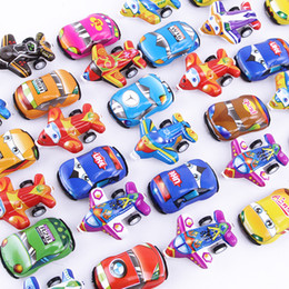 Toy wheels online shopping - Plastic color feedback mini scooter Pull Back Cars and plane Toy Cars for Child Wheels Mini Car Model Funny Kids Toys christmas gifts