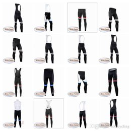 Discount giant bicycle team jersey - Giant team Thermal Fleece jersey (bib)2018 New Hot autumn cycling pants bike riding suit silicone trousers bicycle bike