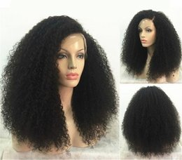 Kinky Curly Human Hair Afro Wigs Australia - Afro Kinky Curly Lace Front Wig With Baby Hair Short Bob Human Hair Wigs For Women Brazilian Front Wig Black Virgin