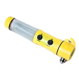 $enCountryForm.capitalKeyWord NZ - Car Survival Escape Hammer Multi-function 4 in 1 Safety Emergency Escape Hammer With LED Flashlight Window Breaker Beacon Light