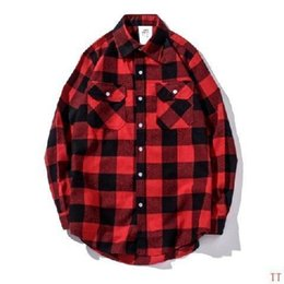 295034eae3e Woman Shirts Long Sleeve Printed Fashion Casual Female Soft Comfortable  Brand Red Plaid Clothing