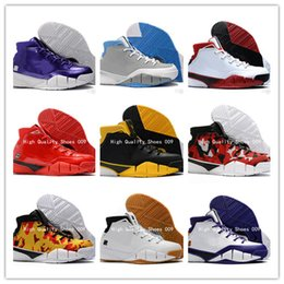 PoPular trainers online shopping - 2018 Cheap New Mens Weaving Kobe Protro ZK1 Sports Basketball Shoes For Top quality Mens Kobe s Trainers Popular Sneakers US