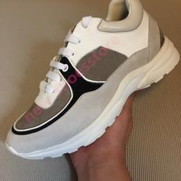 Mujeres Hombres Nuevo diseñador de cuero Zapatillas de deporte casuales Zapatos de lujo Estabilidad extremadamente duradera Zapatos casuales con cordones Diseñador Comodidad Bonito en venta