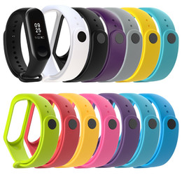Wholesale Strap For Xiaomi Mi Band Smart Band Accessories For Xiaomi Miband Smart Wristband Strap Mi Band Strap