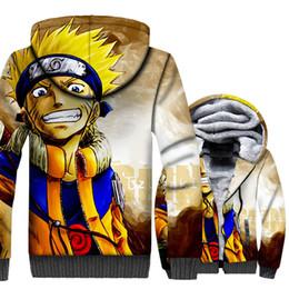 clothes japan 2019 - Unisex Jackets 3D Printed Clothing Uzumaki Naruto Japan Anime Hoodies For Men 2018 Autumn Winter Thick Men's Sweats
