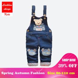 2dcac43ca7 Kids bib overalls online shopping - Liakhouskaya Infant Rompers Baby Overalls  Kids Denim Autumn Braces Child