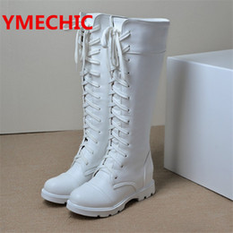 399cf2c6f2a Black White Motorcycle Boots Online Shopping | Red Black White ...