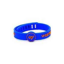 $enCountryForm.capitalKeyWord UK - New arrival metal buckle silicone energy wristband power sports bracelet balance size can adjust bangle jewelry for westbrook signature