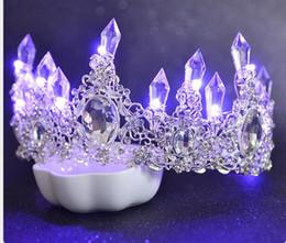 $enCountryForm.capitalKeyWord NZ - Bridal head ornament luxurious atmosphere luminescence wedding ornaments Korean color lantern wedding dress accessories