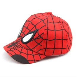 7f70ddef941 New Arrival Kids Baseball Cap Fashion Spider-man Boys Snapback Caps  Children Summer Hats Sun Outdoor shade Hat