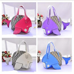 $enCountryForm.capitalKeyWord Canada - Kids Baby Handbags Girls Princess Coin Purses Korean Fashion Cartoon Fish Shape Children Shoulder Bags Candyies Snacks Bags Christmas Gifts