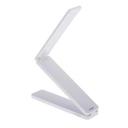 Folding Art Table Australia - 16 LED Rechargeable Foldable LED Desk Reading Lamp Portable Table Lamp Folding Study White