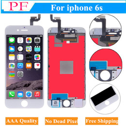 Touch digiTizer glass screen assembly online shopping - For Iphone s LCD Touch Screen Display With Frame Digitizer Assembly D Touch Function AAA Quality Screen Replacement Tempered Glass Free