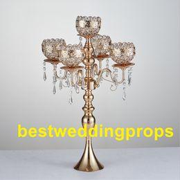 shop gold crystal candle holders uk gold crystal candle holders rh uk dhgate com