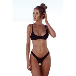 f42527a4f4 New Sexy Bandage thong Bikini Swimwear 2018 ladies micro Bikini Set Women  Swimsuit Beach Swimming Swim Bathing Suits