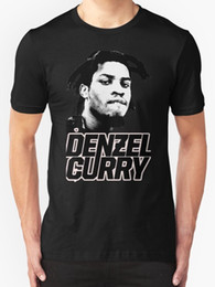 curry shirts NZ - Denzel Curry Men's T shirt Black O-Neck Summer Personality Fashion Men T-Shirts