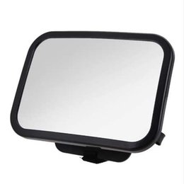Baby View Mirror Car NZ - Adjustable Wide Car Rear Seat View Mirror Baby Child Seat Car Safety Mirror Monitor Headrest High Quality Car Interior Styling