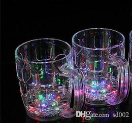 $enCountryForm.capitalKeyWord Australia - Luminous Beer Cup Colorful LED Light Discolored Water Sensing Mug Bardian Wine Glass Novelty Gift Bar Supplies 6 9jc dd