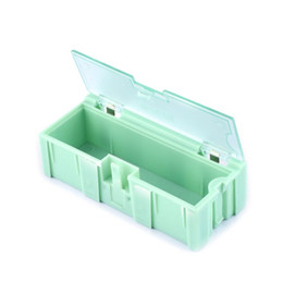 Smt Tools Australia - 1PC Small Tool Box Screw Object Electronic Component Parts Storage Box Laboratory Case SMT SMD Pops Up Patch Container