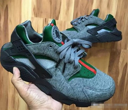 Custom Canvas shoes online shopping - Fashion Air Huarache Running Shoes For Women Men High Quality Mens Huaraches Famous Brand Custom Designer Sport Sneakers Size