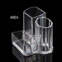$enCountryForm.capitalKeyWord Canada - Acrylic Makeup Organizer Brushes Holder Storage Box Lipstick Display Stand Makeup Tools Accessories Cosmetic Organizer Rack Clear Crystal