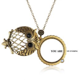 Discount magnifying glass pendants wholesale 2018 magnifying glass discount magnifying glass pendants wholesale the owls charm necklacesthe magnifying glass alloy pendants with box packaging aloadofball Images