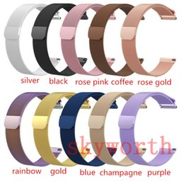 Replacement bRacelet watch bands online shopping - Magnetic Loop Metal Band For Fitbit Charge Versa Lite Blaze AlTA HR Wristband Stainless Steel Watch Bracelet Mesh Strap Replacement