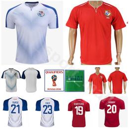 World Cup 2018 Panama Football Shirt Kits Men 23 BALOY 1 PENEDO 19 QUINTERO  23 CHEN 10 CAMARGO Soccer Jersey Thai National Team Personalized 4b5767502