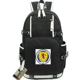 Zaino Alba Zaino della squadra scozzese Cartellino tondo Cartella scuola calcio Zaino calcio Zaino per laptop Zaino sportivo Zaino porta esterno