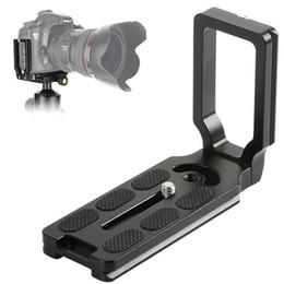 PU-105 L geformt 105cm L-Platte 1/4 Schraube Schnellwechselplatte für Canon 5D 7D 60D 600D 1100D Nikon 550D 450D DSLR-Kameras im Angebot