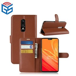 $enCountryForm.capitalKeyWord Canada - For Oneplus 6 5T 1+5T Premium PU Leather Wallet Case Cover with Card Slot Most Popular Products