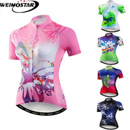 Cycling Jersey Women Bike Shirt Pro Road MTB Bicycle Clothing Short Sleeve  Maillot Ropa Ciclismo Female Racing Top 5742d982d