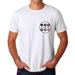 White Lever UK - JDM Gear Lever Men's White T-shirt