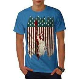 Wellcoda Amerikan Liberty Erkek T-shirt, Özgürlük Grafik Tasarım Baskılı Tee Yüksek Kalite Özel Baskılı Hipster Tees T-Shirt Tops indirimde